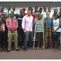 Ghana Campus Screens 'Inside Buffalo' Soldiers Documentary with Director