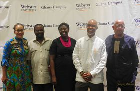 Lecture Series Examines Ethics in Political Campaigning in Ghana, U.S.