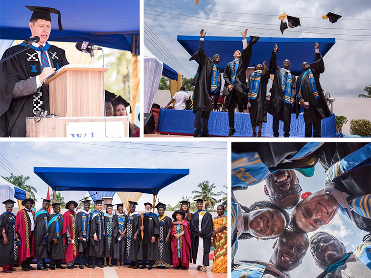 Ghana Campus Celebrates Third Commencement Ceremony