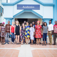 Webster Ghana Welcomes New Students from Across West Africa, Beyond