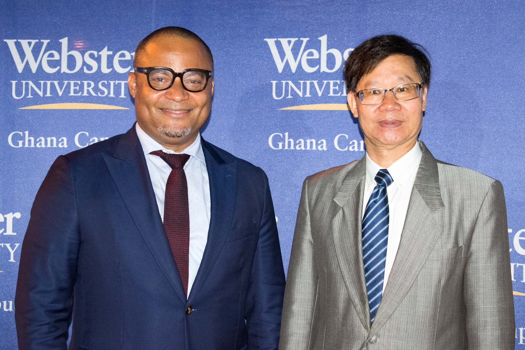 Webster Ghana hosts globally renowned investigative journalist Anas Aremeway Anas