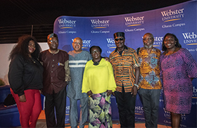 Webster Ghana Brings Art Lovers Together Through Creative Arts Lecture
