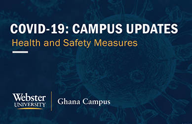 Covid-19: Campus Updates - Health and Safety Measures